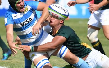 Argentina vs South Africa,  match day 3 of the World Rugby U20 Championship. Foto: Levan Verdzeuli